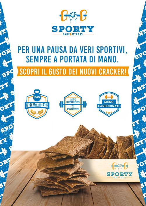 Sporty - il pane per lo sport, il fitness e il benessere - Novaterra Zeelandia - Social & Web by centrotangram.net Team S.P.O.R.T.S. portale www.mioterapista.it